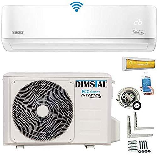 A++/A++ ECO Smart INVERTER Split Klimaanlage mit Wärmepumpe Klimagerät ECO Smart WiFi WLAN 9000 BTU 2,6 kW...