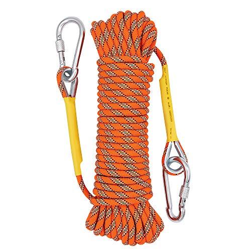 X XBEN Seil 8mm Outdoor-Seil Hochfestes Sicherheitsseil für Höhenarbeiten Feuerleiter Baumklettern...