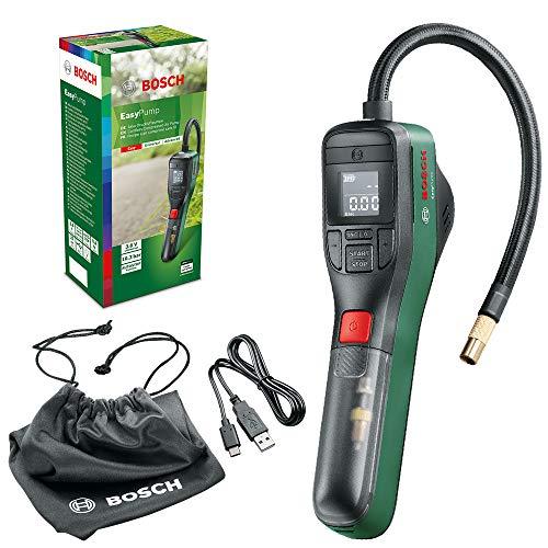 Bosch Home and Garden 603947000 elektrische Luftpumpe Mini Kompressor EasyPump (3,0 Ah Akku, 3,6 Volt,...