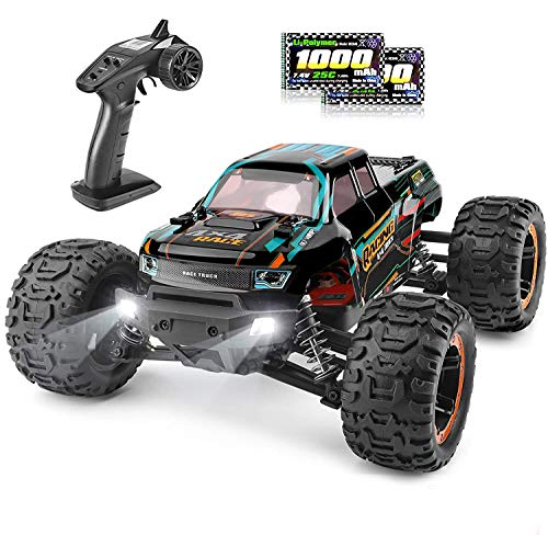 HAIBOXING Ferngesteuertes Auto 1/16 4WD RC Auto 36 km/h Hochgeschwindigkeits RC Monster Truck 2,4 GHz...
