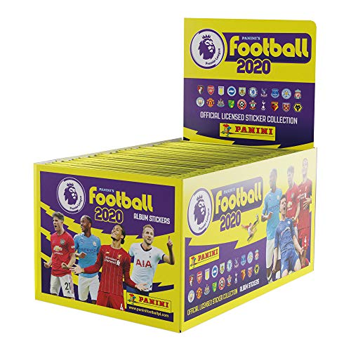 Panini PL1920P Panini's Football 2020-The Official Premier League Sticker Collection (X100 Packs)