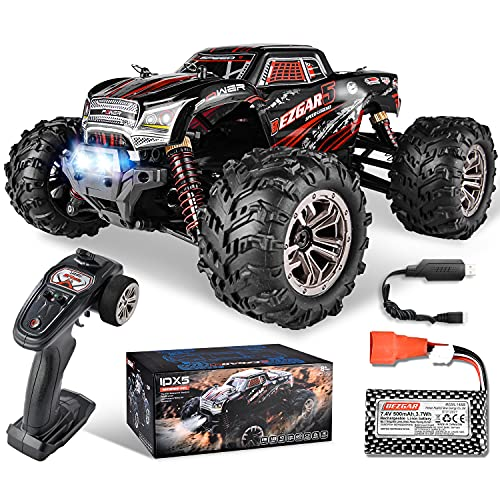 BEZGAR 5 Rc Auto Maßstab 1:20, 30 Km/h Alle Terrains 4WD Ferngesteuertes Auto Elektrisches Spielzeug Offroad...
