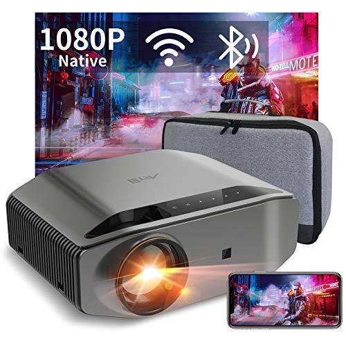 Beamer Full HD WLAN Bluetooth - Artlii Energon2 8000 Lumen Native 1080P Projektor Beamer WiFi Unterstützt 4K,...