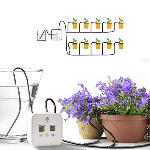 sPlant [Upgraded] 5V USB-Tropfbewässerungsset, Selbstbewässerungssystem für Zimmerpflanzen mit...