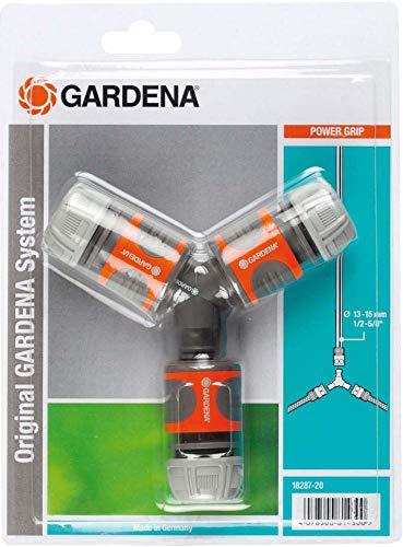 Gardena Abzweig-Satz für 13 mm (1/2 Zoll)- und 15 mm (5/8 Zoll)-Wasserschläuche: Wasserdichter...