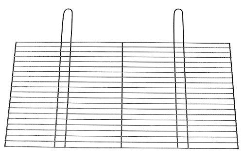BitWa 54x34cm Grillrost mit Zwei festen Handgriffen Grillkamin Kamin Gartengrill für Holzkohlegrill oder...