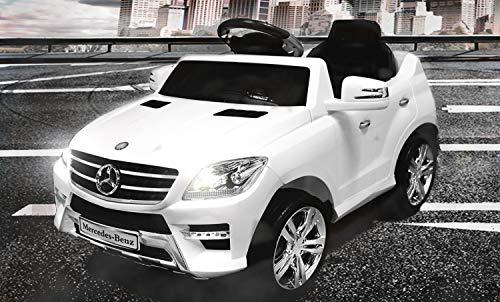 Lizenz Kinderauto Mercedes - Benz ML350 Jeep 6V 1x25W Motor RC Elektroauto Kinderfahrzeug Ferngesteuert...