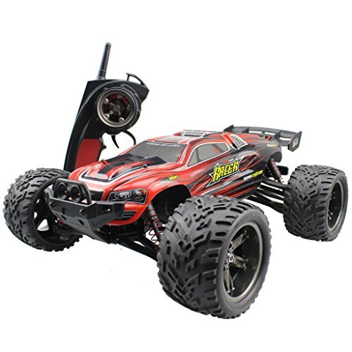 s-idee® 18160 9116 RC Auto Buggy wasserdichter Monstertruck 1:12 mit 2,4 GHz über 40 km/h schnell, wendig,...