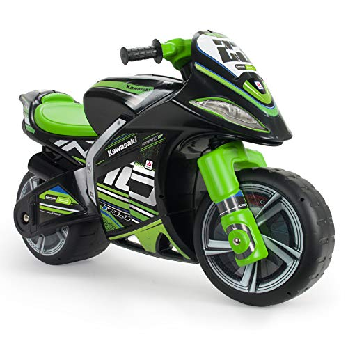 INJUSA - Laufrad Kawasaki Winner XL Nicht-Elektrisch, mit offizieller empfohlener Markenlizenz für Kinder + 3...