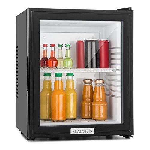 Klarstein MKS-12 - Minibar, Mini-Kühlschrank, Getränkekühlschrank, A, 24 Liter, geringer Energieverbrauch,...