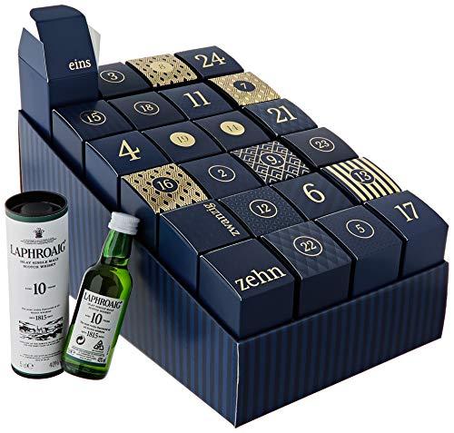 Amazon Premium Spirituosen Adventskalender 2020 - 24 Miniaturflaschen inkl. Booklet mit Verkostungsnotizen und...