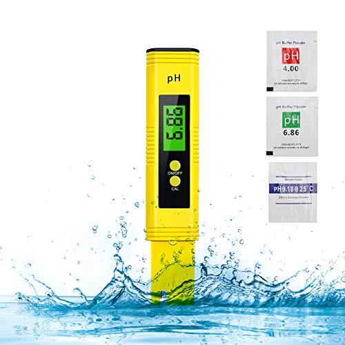 PH Messgerät, Digital PH Wert Messgerät, ATC Wasserqualität Tester für...