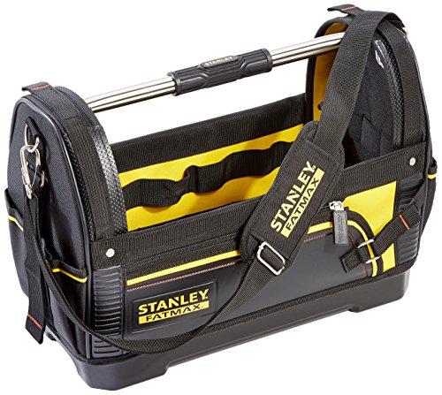 Stanley FatMax Werkzeugtrage (48x33x22cm, 600 Denier Nylon, wasserdichter Kunststoffboden, ergonomischer...