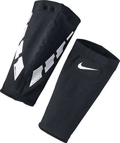 Nike Guard Lock Elite Schienbeinschoner Stutzen, Black/White/White, L