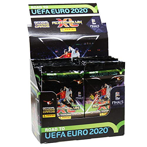 Sammelkarten Road to Euro 2020, Display mit 50 Boostern