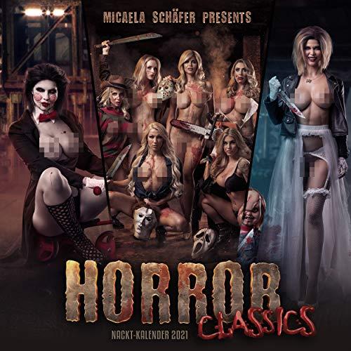 Quartett.net Micaela Schäfers'Horror Classics' Erotischer Wandkalender 2021