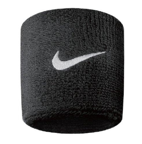 Nike Unisex-Youth Swoosh Gelenkband, Black/White, OSFM