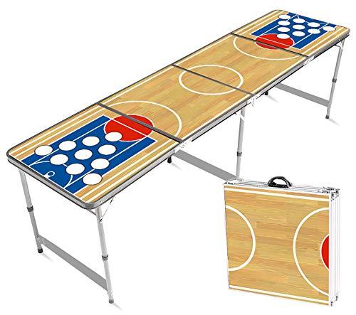 Offizieller Basketball Beer Pong Tisch | Premium Qualität | Offizielle Maße für Wettbewerb | Beer Pong...