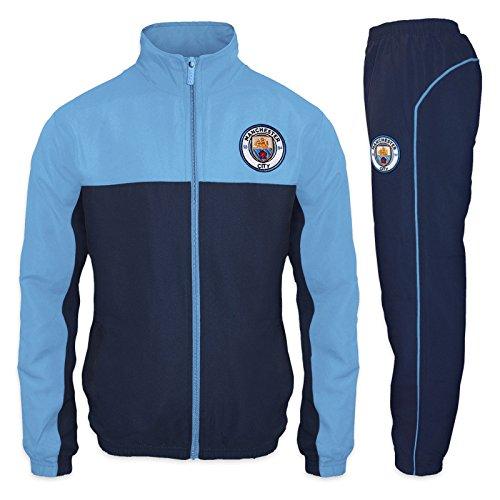 Manchester City FC - Herren Trainingsanzug - Jacke & Hose - Offizielles Merchandise - Geschenk für...