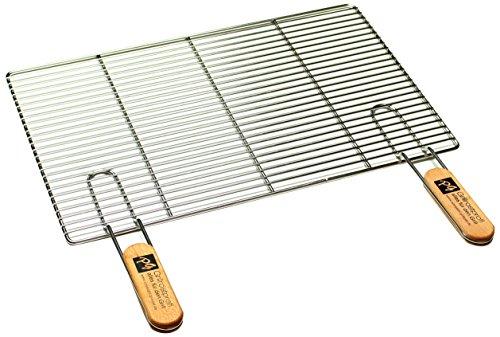 PG Metalltechnik Edelstahl Rost Grillrost - rechteckig und rund - Grill Rost Grössenauswahl (54 x 34 cm mit...