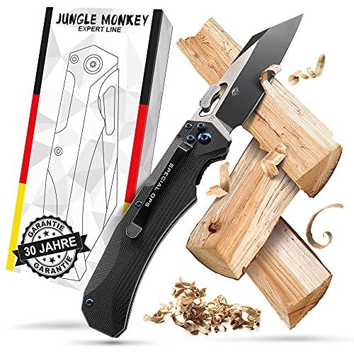 Bullhead Klappmesser einhandmesser – extra scharfes & patentiertes Taschenmesser – Ink. Geschenkbox -...
