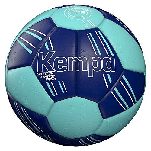 Kempa Unisex– Erwachsene Spectrum Synergy Primo Ball, DEEP BLAU/Light BLAU, 2