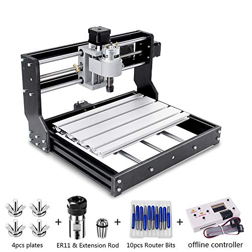 CNC 3018 Pro Engraver Fräsmaschine, Handwerker168 Upgrade-Version GRBL-Steuerungs-DIY-Mini-CNC-Maschine,...