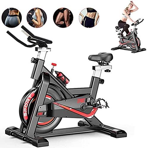 CANMALCHI Indoor-Heimtrainer-Spinning-Bike für den Heim- / Fitnessbereich, einstellbares Workout-Bike,...