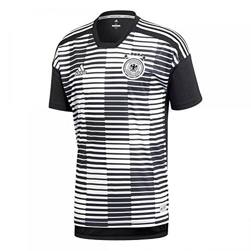 adidas Herren DFB Pre-Match Shirt T, White/Black, L