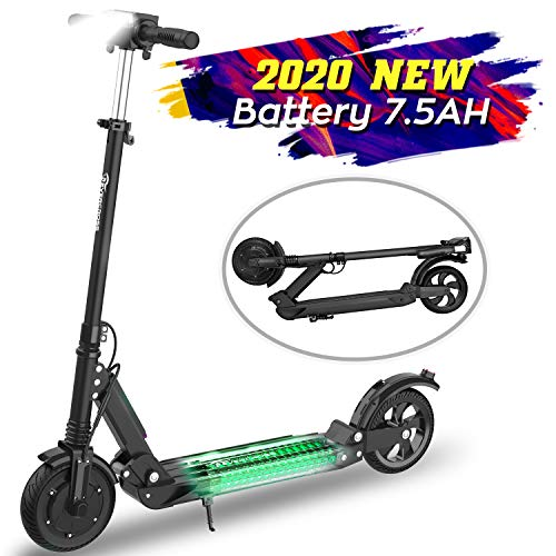 MARKBOARD E-Scooter Klappbar Elektroscooter 8 Zoll Erwachsene Bis 30 km/h Elektroroller   7.5Ah Akku   350...