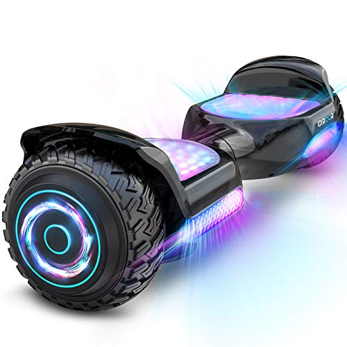 """Hoverboard Self Balancing Scooter 6.5"""" SUV Hoverboard mit Bluetooth-Musiklautsprecher & Bunte LED Lichter..."""