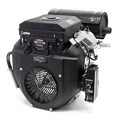 LIFAN 2V78F-3 Zweizylinder Benzinmotor mit 20,4PS und E-Start für Traktoren und Bagger 25mm