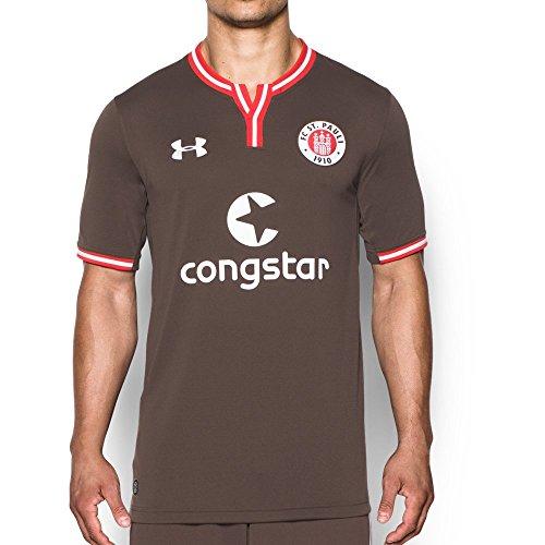 Under Armour Herren FC St. Pauli Heimtrikot Trikot, Braun, XL