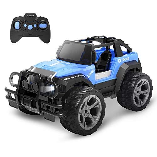 DEERC DE42 RC Ferngesteuertes Auto für Kinder,Wasserdicht Car 1:18 Spielzeug mit 80 Min. Lange...