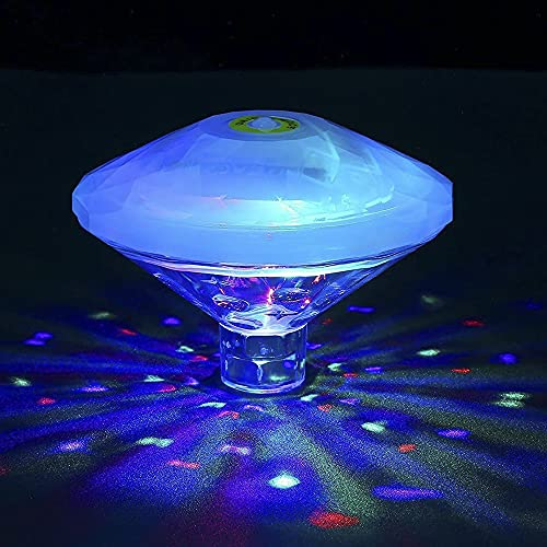 RAVPHICS Poolbeleuchtung Unterwasser Led, Badewannen licht für kinder, IP68 Wasserdicht, RGB-Poollichter mit...