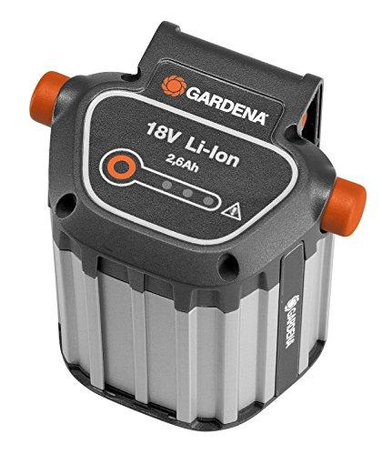 Gardena System Akku BLi-18: Zubehör für viele Gardena Trimmer, Bläser und Heckenscheren, 18 V Akkuleistung...