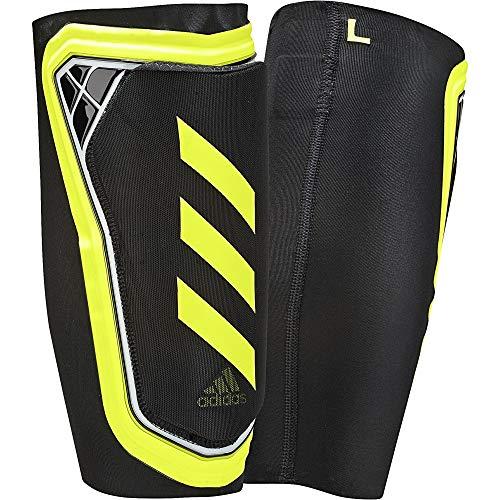 adidas Erwachsene X Foil Schienbeinschoner, Black/Solar Yellow/White, L