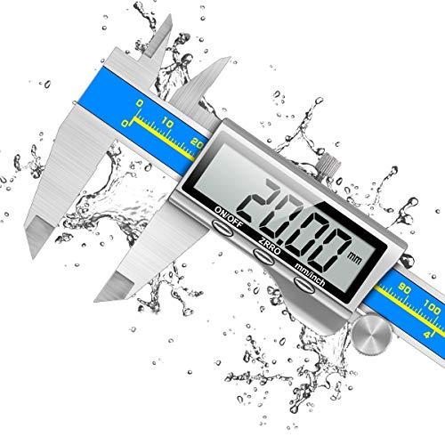 Schieblehre Industriequalität, Orthland Messschieber Digital Messlehre mit Hoch Messgenauigkeit & Groß LCD,...