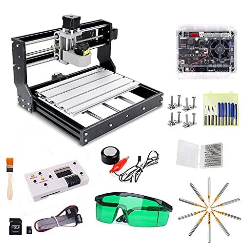 CNC 3018 Pro Engraver Fräsmaschine, Yofuly Upgrade-Version GRBL-Steuerungs-DIY-Mini-CNC-Maschine,...