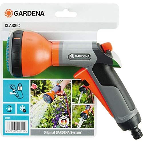 Gardena Classic Multibrause: Gartenbrause zur Bewässerung von Topfpflanzen und Beeten, 3 Wasserstrahlformen,...