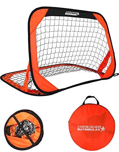 bayinbulak Fußballtor für Kinder Mini Fußballtor Pop-up Fussballtor x1