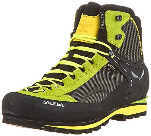 Salewa Herren MS Crow Gore-TEX Trekking-& Wanderstiefel, Cactus/Sulphur Spring, 43 EU