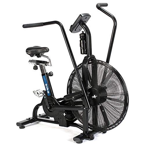 A&DW 2020 Indoor Exercise Airbike-Fitnessgerät, Cardio-Fitnessgerät, Verstellbarer Sattel, LED-Anzeige,...