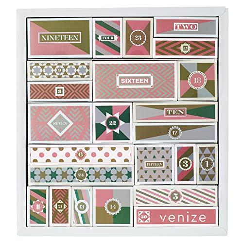 VENIZE Deluxe Adventskalender für Erwachsene 2019