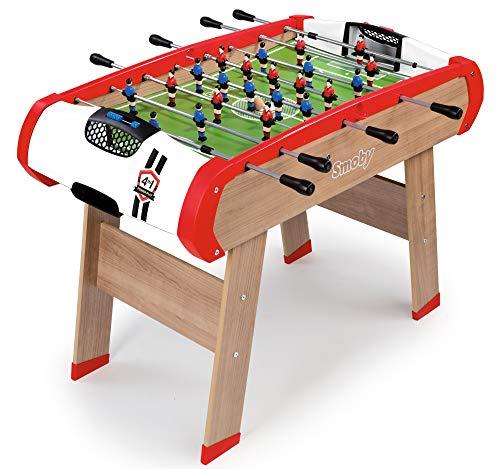 Smoby - Multifunktions Tischfußball Powerplay 4-in-1 - Wandelbarer Spieltisch, Tischfußball, Billard,...
