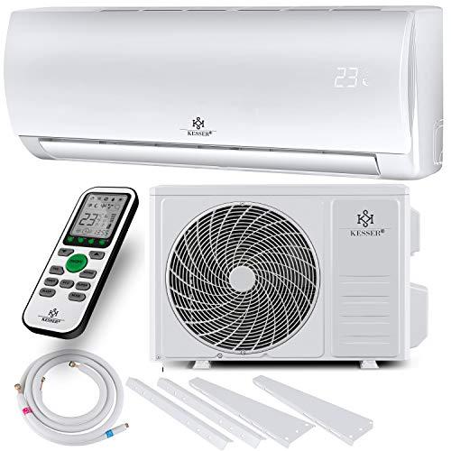 KESSER® Klimaanlage Set Split - mit WiFi/App Funktion Klimagerät - Kühlen A++/ Heizen A+ -12000 BTU/h...