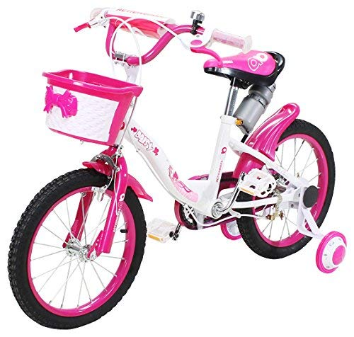 Actionbikes Kinderfahrrad Daisy - 16 Zoll – V-Break Bremse vorne - Stützräder - Luftbereifung - Ab 4-7...