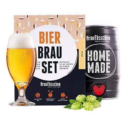 braufaesschen  Bierbrauset zum selber brauen   Pils im 5 Liter Fass   In 7 Tagen fertig Männer, Freund oder...