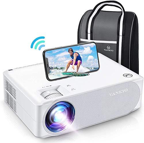WiFi Beamer 7000 Lux, Native 1080p Beamer Full HD, VANKYO Performance V630W Beamer Heimkino, mit ±50°...