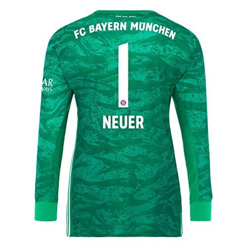 FC Bayern München Kinder Torwart Trikot 2019/20, Manuel Neuer, Größe 152